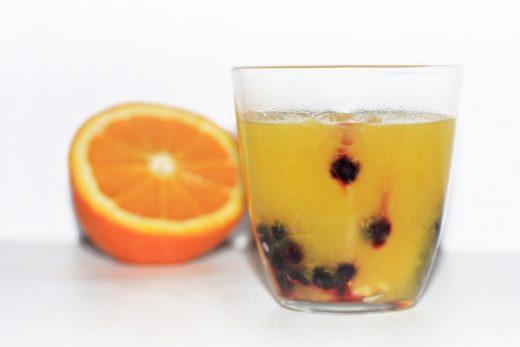 Apelsinu kisielius. zalia gentis. 1000