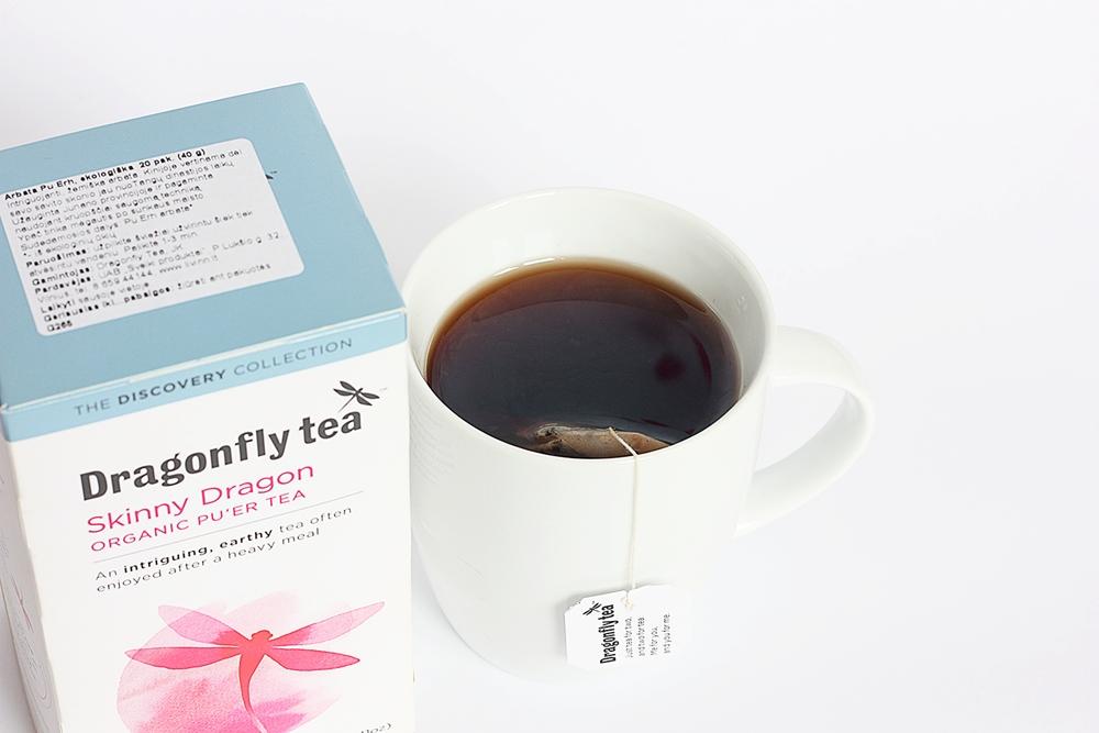 Dragonfly tea. puer. zalia gentis