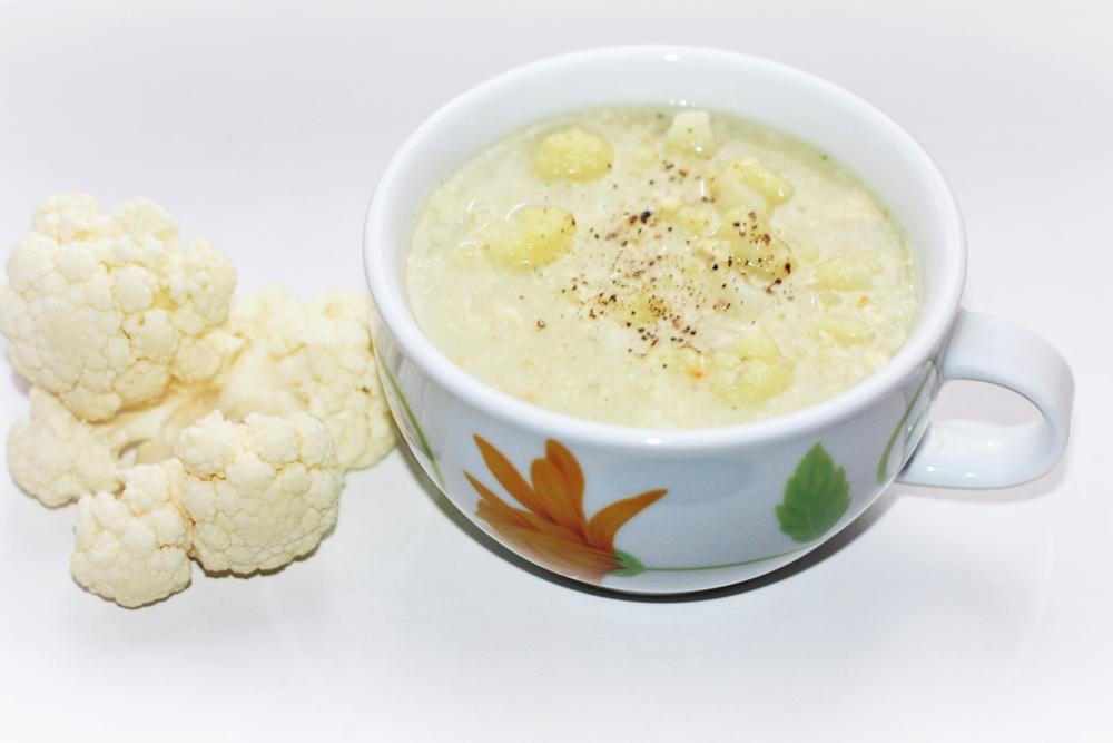 Ziediniu kopustu sriuba. zalia gentis.