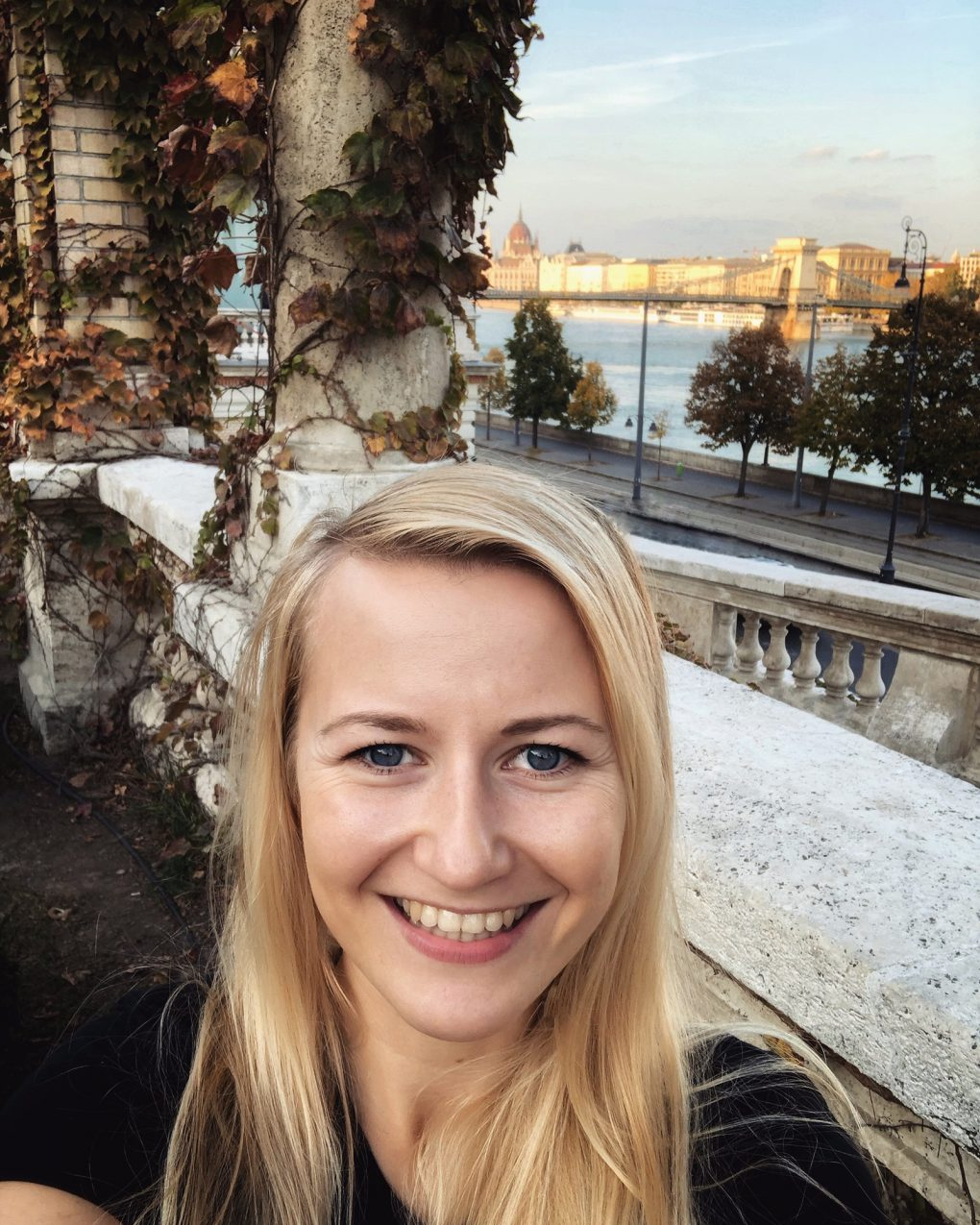 Budapest selfie