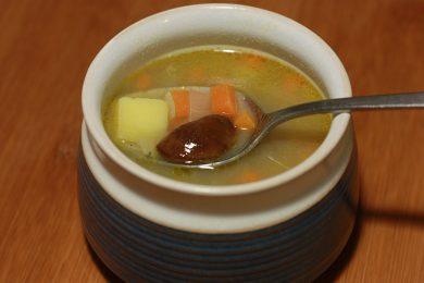 Grybu sriuba zalia gentis