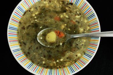 Rugstyniu sriuba zalia gentis