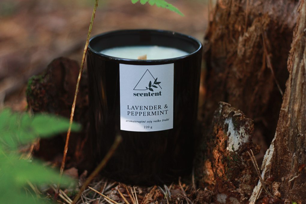 Scentent candle1 2000